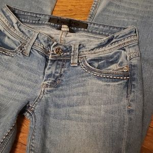 Bebe Light Wash Jeans Bootcut
